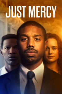 This is the movie poster for Just Mercy
