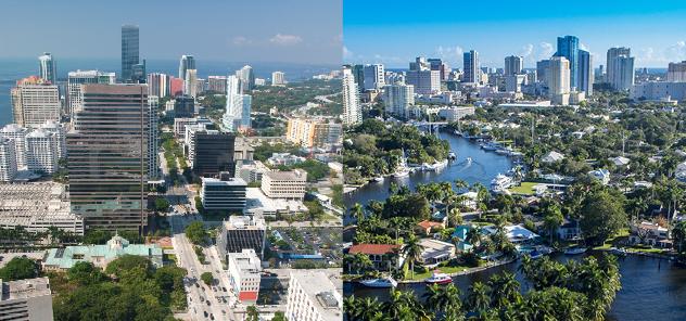 Florida Campus Aerial Shot