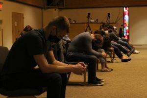 Day of Prayer Guys Praying
