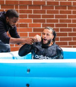 Javier Acosta Baptism